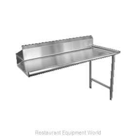 Food Machinery of America 28475 Dishtable, Clean Straight