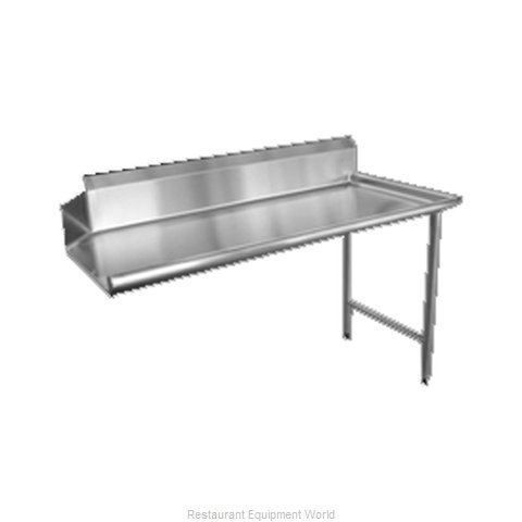 Food Machinery of America 28477 Dishtable, Clean Straight