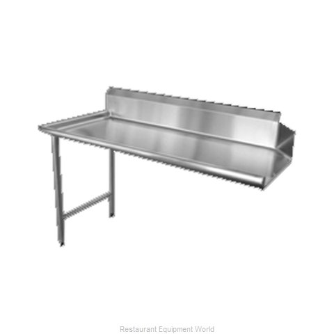 Food Machinery of America 28478 Dishtable, Clean Straight