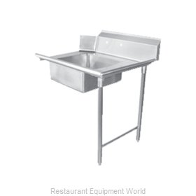 Food Machinery of America 28480 Dishtable, Soiled