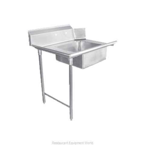 Food Machinery of America 28481 Dishtable, Soiled