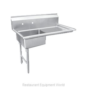 Food Machinery of America 28482 Dishtable, Soiled