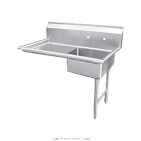 Food Machinery of America 28483 Dishtable, Soiled