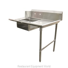 Food Machinery of America 28484 Dishtable, Soiled