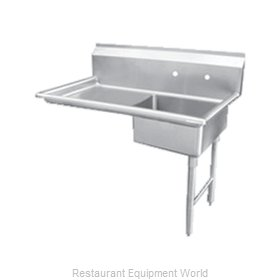 Food Machinery of America 28485 Dishtable, Soiled