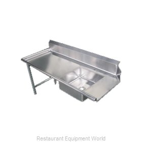 Food Machinery of America 28486 Dishtable, Soiled