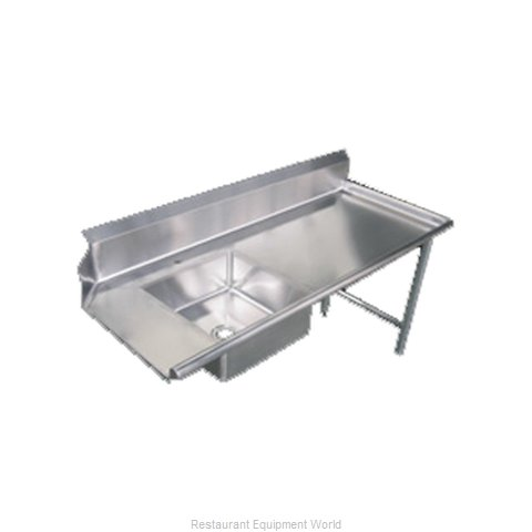 Food Machinery of America 28487 Dishtable, Soiled