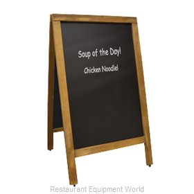 Food Machinery of America 31396 Sign Board, A-Frame