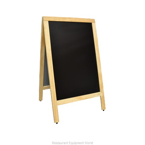 Food Machinery of America 31398 Sign Board, A-Frame
