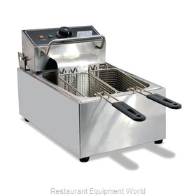 Food Machinery of America 34867 Fryer, Electric, Countertop, Full Pot