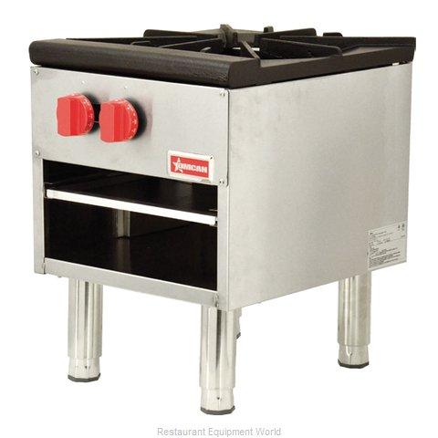Food Machinery of America 37525 Range, Stock Pot, Gas