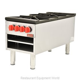 Food Machinery of America 37529 Stock Pot Range, Gas