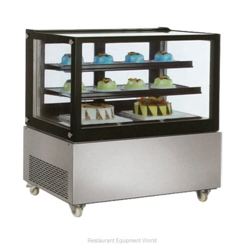 Food Machinery of America 39540 Display Case, Refrigerated Bakery