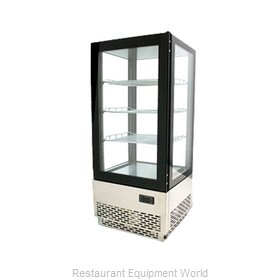 Food Machinery of America 39551 Display Case, Refrigerated, Countertop