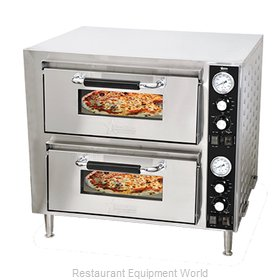 Food Machinery of America 39580 Pizza Oven, Deck-Type, Electric