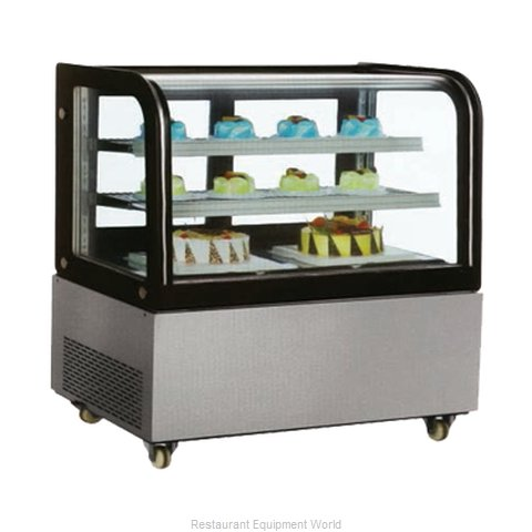 Food Machinery of America 40519 Display Case, Refrigerated Bakery
