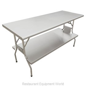 Food Machinery of America 41236 Folding Table, Rectangle