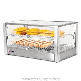 Food Machinery of America 41872 Display Case, Hot Food, Countertop