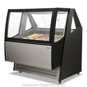 Food Machinery of America 43118 Display Case, Dipping, Gelato/Ice Cream