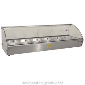 Food Machinery of America 43119 Display Case, Hot Food, Countertop