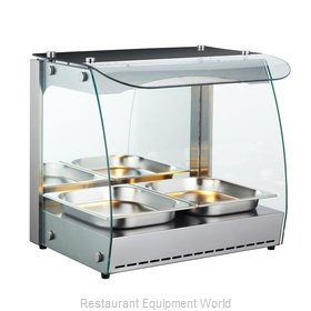 Food Machinery of America 43120 Display Case, Hot Food, Countertop