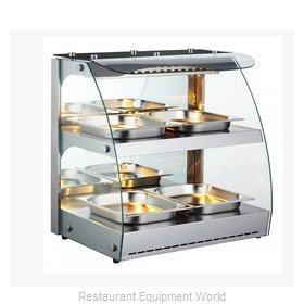 Food Machinery of America 43121 Display Case, Hot Food, Countertop