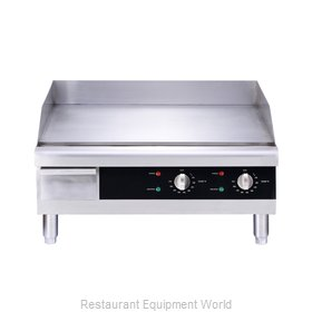 Food Machinery of America 43213 Griddle, Electric, Countertop