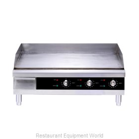 Food Machinery of America 43214 Griddle, Electric, Countertop