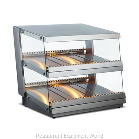 Food Machinery of America 43465 Display Case, Hot Food, Countertop