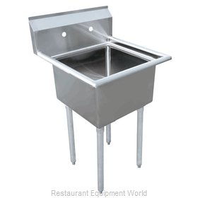 Food Machinery of America 43783 Sink, (1) One Compartment