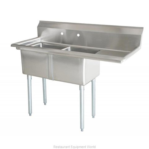 Food Machinery of America 43792 Sink, (2) Two Compartment