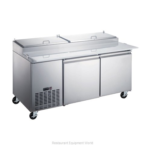 Food Machinery of America 50043 Refrigerated Counter, Pizza Prep Table