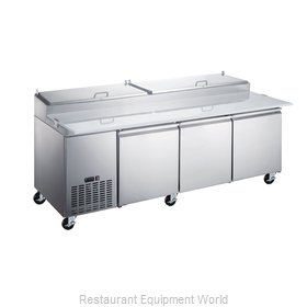 Food Machinery of America 50044 Refrigerated Counter, Pizza Prep Table