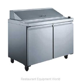 Food Machinery of America 50046 Refrigerated Counter, Sandwich / Salad Top