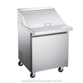 Food Machinery of America 50049 Refrigerated Counter, Mega Top Sandwich / Salad
