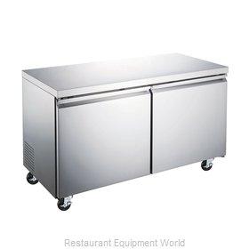 Food Machinery of America 50055 Freezer, Undercounter, Reach-In