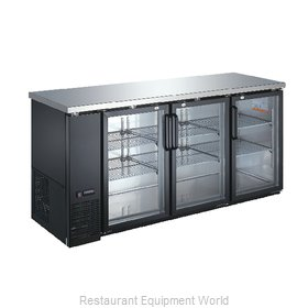 Food Machinery of America 50062 Back Bar Cabinet, Refrigerated