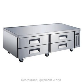 Food Machinery of America 50072 Equipment Stand, Refrigerated Base