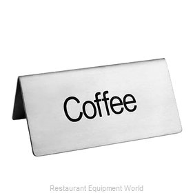 Food Machinery of America 80139 Beverage Sign
