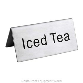 Food Machinery of America 80141 Beverage Sign