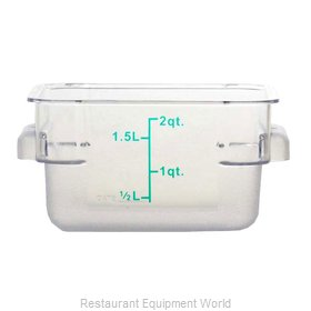 Food Machinery of America 80172 Food Storage Container, Square