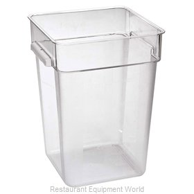 Food Machinery of America 80182 Food Storage Container, Square