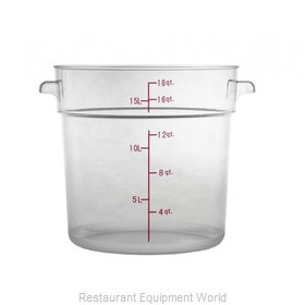 Food Machinery of America 80183 Food Storage Container, Round