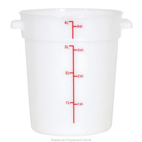 Food Machinery of America 80187 Food Storage Container, Round