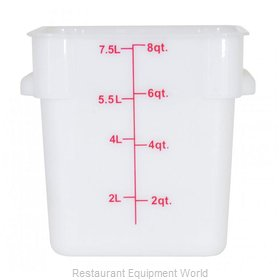 Food Machinery of America 80190 Food Storage Container, Square