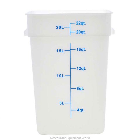 Food Machinery of America 80196 Food Storage Container, Square