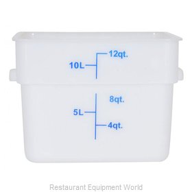 Food Machinery of America 80201 Food Storage Container, Square