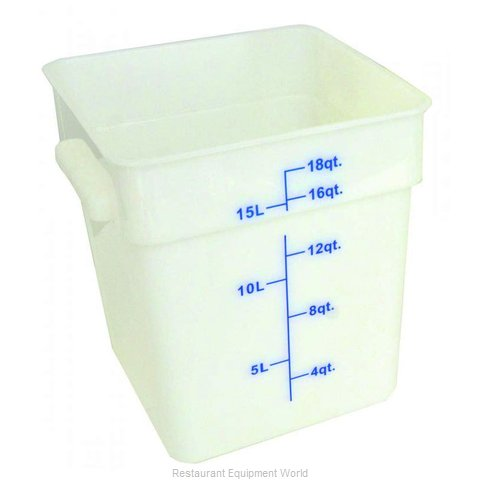 Food Machinery of America 80206 Food Storage Container, Square
