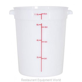 Food Machinery of America 80210 Food Storage Container, Round