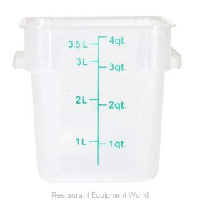 Food Machinery of America 80225 Food Storage Container, Square